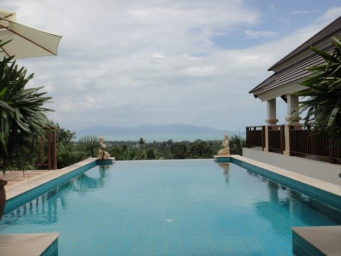 S051: HILLSIDE SEA VIEW VILLA FOR SALE AND RENTAL