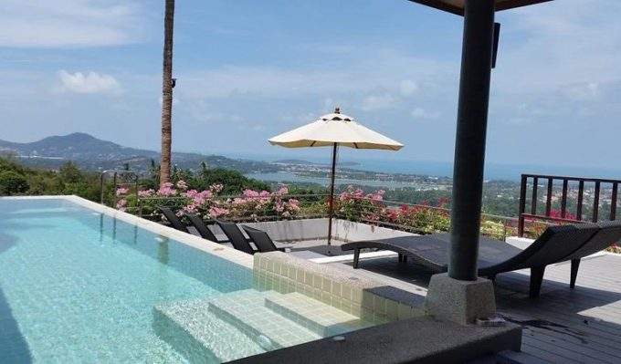 S339: SEA VIEW KOH SAMUI VILLA FOR SALE OR RENTAL