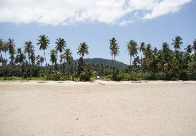 S1174: 5.88 RAI KOH SAMUI LAND PLOT FOR SALE 80 METERS TO THE BEACH