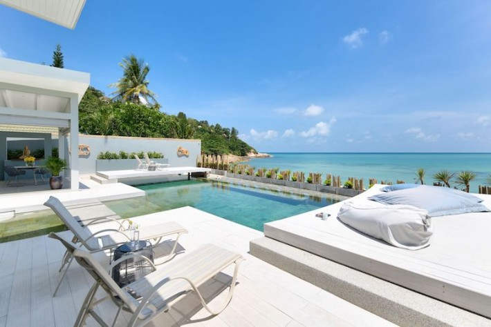 S1491: STUNNING KOH SAMUI BEACHFRONT VILLA FOR SALE