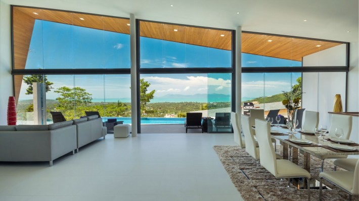 S1532: LUXURY KOH SAMUI VILLA WITH SEA VIEWS FOR SALE