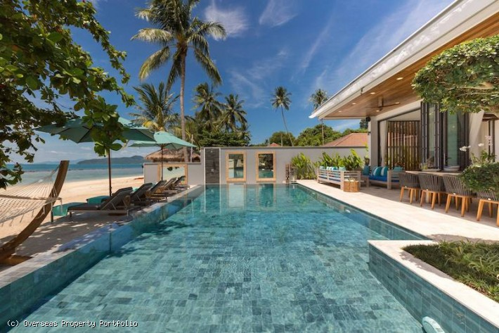 S1596: TWO LUXURY BEACHFRONT KOH SAMUI VILLAS FOR SALE FOR DISCERNING INVESTORS