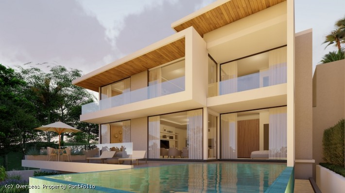 S1634: 6 BEDROOM LUXURY SEA VIEW KOH SAMUI VILLA FOR SALE