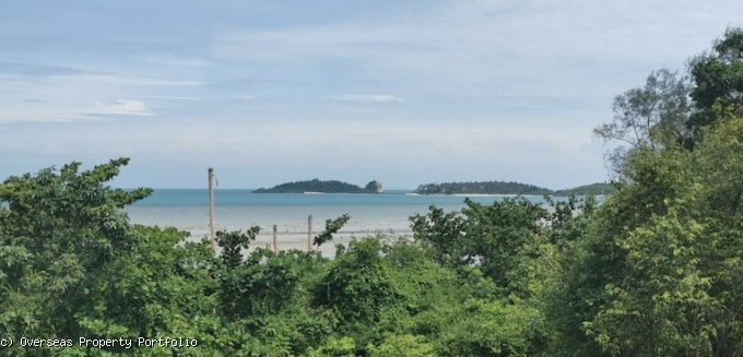 S1707: 3 RAI SEA VIEW KOH SAMUI LAND PLOT FOR SALE