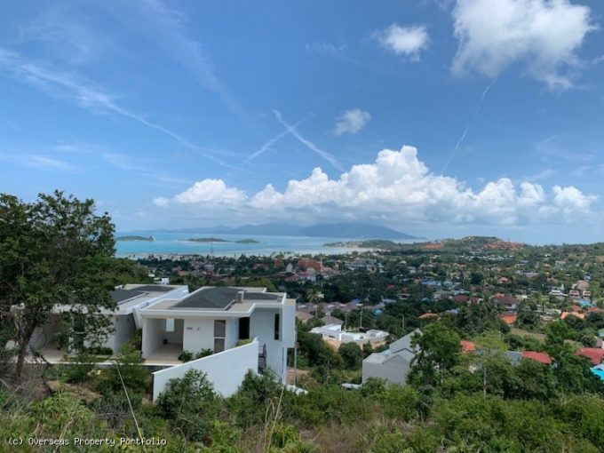 S1734: 1 RAI KOH SAMUI SEA VIEW LAND FOR SALE