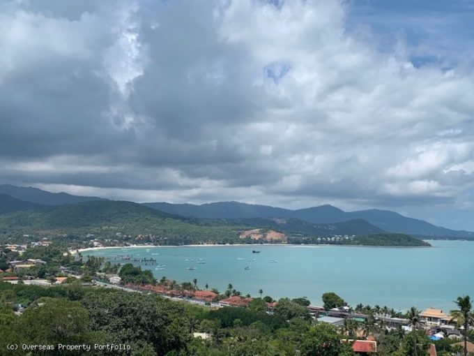 S1735: KOH SAMUI LAND PLOT FOR SALE WITH STUNNING SEA VIEWS