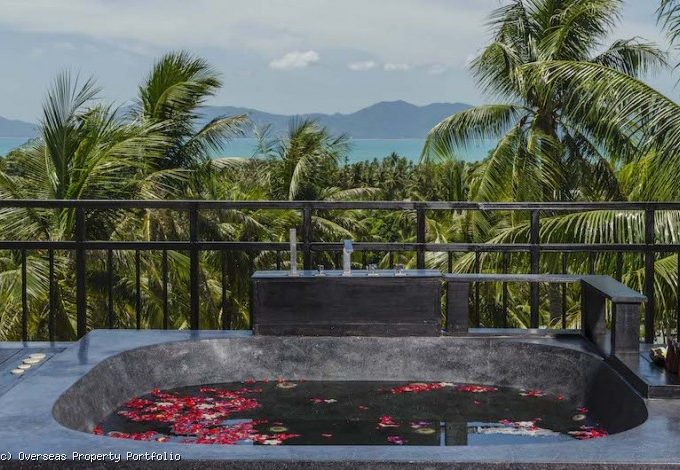 S1754: KOH SAMUI PENTHOUSE FOR RENT IN GREAT LOCATION