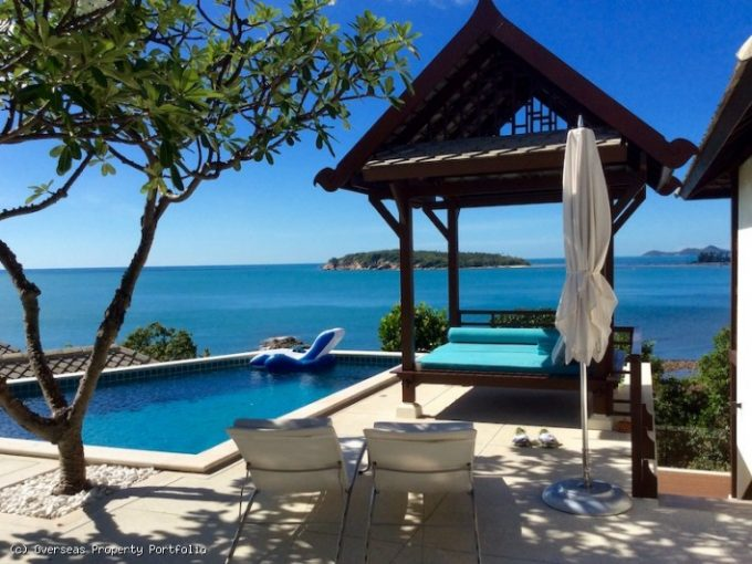 S1788: SEAFRONT KOH SAMUI VILLA FOR SALE & RENT