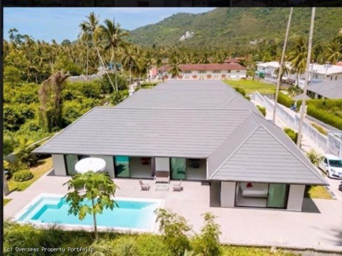 S1808: KOH SAMUI VILLA IN QUIET AREA FOR SALE AND RENT