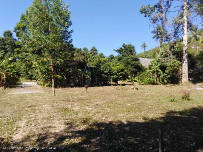 S1823: KOH SAMUI LAND PLOTS FOR SALE