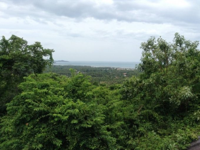 S1279: 2 RAI SEA VIEW KOH SAMUI LAND PLOT FOR SALE