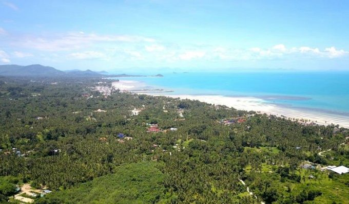 S1289: KOH SAMUI LAND PLOT FOR SALE WITH 180 DEGREE SEA VIEWS