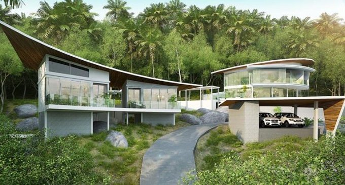 S1276: 2.72 RAI SEA VIEW KOH SAMUI LAND FOR SALE
