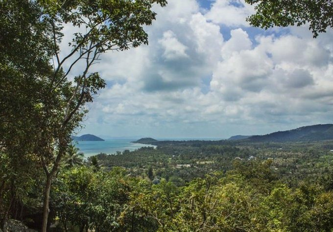 S1275: 1.92 RAI AMAZING SEA VIEW KOH SAMUI LAND PLOT FOR SALE